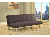 Canterbury Black Sofa Bed *** BIG HOME CLEARANCE EVENT *** RRP £159 *** Seater-Click-Clack Sofabed