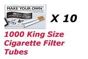Make Your Own Cigarettes