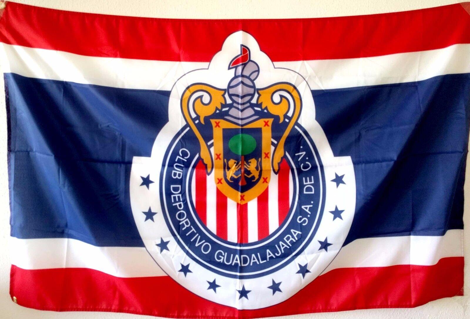 Chivas Guadalajara Flag Banner Bandera 3x5 Ft Mexico Futbol Soccer