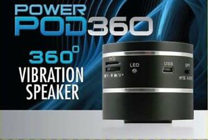 PowerPod360 vibration speaker - used, excellent condition