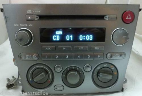 Subaru Legacy Radio Ebayrhebay: 2007 Subaru Legacy Audio At Gmaili.net