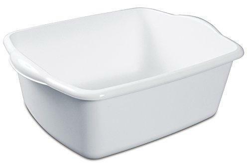 Sterilite White 12Qt Dishpan