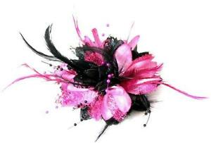 Black and Pink Fascinator 9ffe648e26e