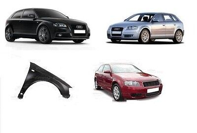AUDI A3 2003 / 2008  FRONT WING PAINTED ANY COLOUR RIGHT SIDE O/S AUDI