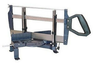 scie a onglet a main a bois 350mm manuelle guide de coupe ebay. Black Bedroom Furniture Sets. Home Design Ideas
