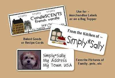 Your Own Photo Address Labels 30 Personalized Custom