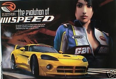 "AUTO POSTER: ""R RACING - THE EVOLUTION OF SPEED SPORTS CAR"""