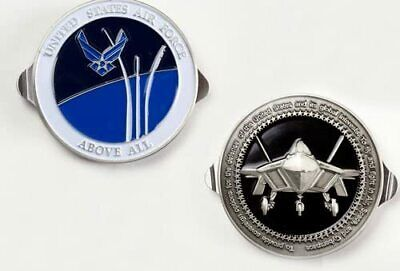 AIR FORCE CHALLENGE COIN KNIFE FILE SCISSORS CIGAR CUTTER MULTI TOOL OPENER NEW