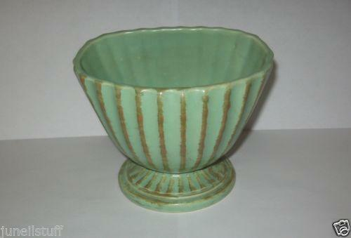 Hull Pottery Green Ebay