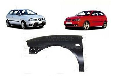 SEAT IBIZA 2002/2008 FRONT WING PAINTED ANY COLOUR LEFT HAND N/S