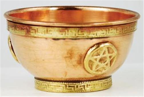 Pentagram Copper Offering Bowl!
