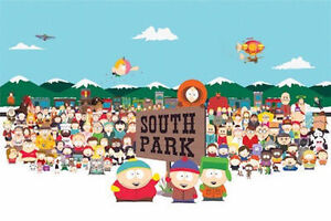 SOUTH PARK POSTER - 24x36 CHARACTERS CARTMAN STAN KENNY KYLE 0315