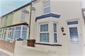 Newly refurbished, 3 bedroom house in Gillingham - very close to university with bills included