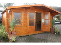 Olympian Gold Interlocking Cabin - Skinners Sheds - Created By Nature - Built By Hand