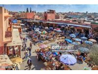 MOROCCO/ MARRAKESH HOLIDAY - FLIGHTS AND 4 STAR HOTEL FOR 2 ADULTS AND 1 CHILD