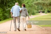 In-Home Caregiver reqd. for disabled elderly male
