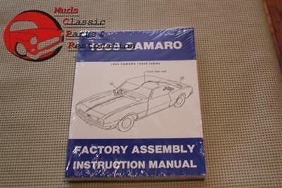 68 Camaro Factory Assembly Manual New FREE SHIPPING 68 Camaro Manual