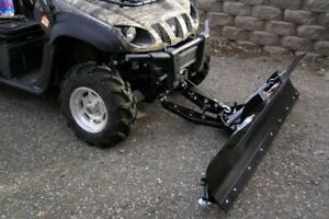 Eagle snow plow with Yamaha rhino attachment plate.