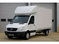 24 Hours Man & Van Removal Service Available From £25.00 P/HR
