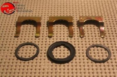 Camaro Chevelle Firebird Chevy GM Door & Trunk Lock Retainer Clips w/Gaskets ()