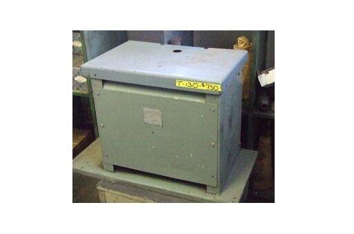 RELIANCE 36.3 KVA Transformer 460 Primary 230 Secondary Three Phase