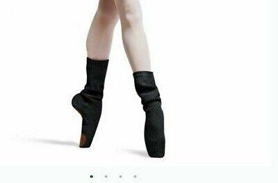 Bloch W6730 Pointe shoe Socks Break in pointe shoes the BEST way Black Suedeptch