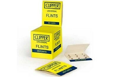 Clipper Classic-Feuersteine  9 stück