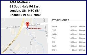 NEW Single Mattresses or Boxsprings from $70 Each AND NO TAX!! London Ontario image 9