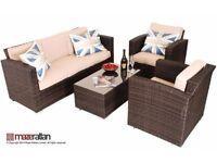 Brand new Maze Rattan Furniture Kingston 3Seater Sofa + coffee table