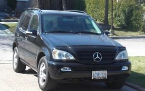 2002 Mercedes-Benz M-Class Classic SUV, Crossover