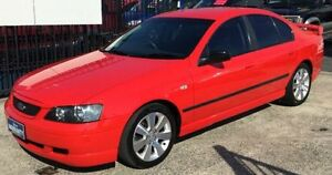 2003 Ford Falcon BA XT Red 4 Speed Automatic Sedan Underwood Logan Area Preview