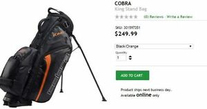 New Cobra King Stand Bag