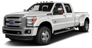 2015 Ford F-350 Lariat DUAL REAR WHEEL PLATINUM