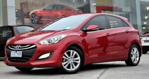 2014 Hyundai i30 GD MY14 Elite Red/Black 6 Speed Sports Automatic Hatchback Ferntree Gully Knox Area Preview