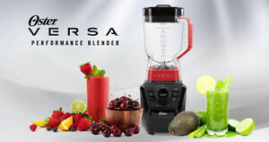 BNIB Oster Versa Performance Blender with Bonus Blend-N-Go Cups.