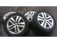 Vauxhall Astra, Zafira, Vectra x4 Alloy Wheels and Tyres 205/55/16