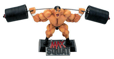 MAX SQUAT Xtreme Figurine Bodybuilding Weightlifting Collectible Muscle Statue