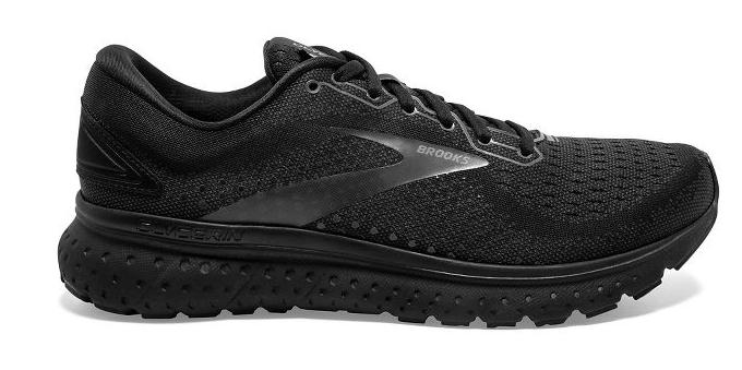 AUTHENTIC Brooks Glycerin 18 Black Black Running Shoe Men Size - $184.95