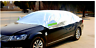 Durable Half Size Waterproof Car Cover Top Winter Summer Anti Snow bird dropping