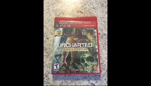 Uncharted 1,2,3 for PS3 sealed