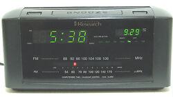 emerson Research SmartSet  Time  2 Alarm Clock / Calendar AM / FM Radio Perfect