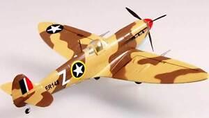 Easy-Model-Spitfire-MK-V-TROP-RAF-249th-Sqn-1942-Finished-Model-1-72-Stand