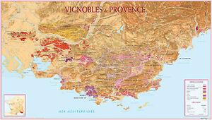 Carte-du-Vignoble-de-Provence-POSTER