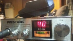 **READ AD**President AX-7 CB Radio - 40.00 FIRM