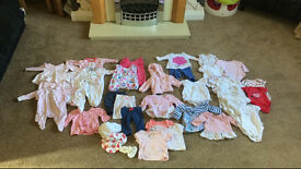0-3 baby girls clothes bundle