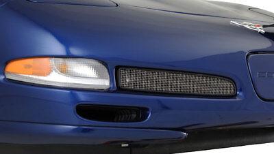 (C5 Corvette 1997-2004 Z06-Style Fog Light Front Screen with Plastic Shroud )