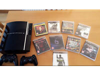 PLAYSTATION 3 40GB with 9 Games