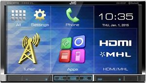 "JVC KW-V51BT Double DIN 7"" DVD receiver - USB + BLUETOOTH"