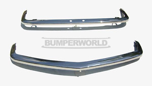 Triumph Spitfire MK4/1500 Front & Rear Chrome Bumpers