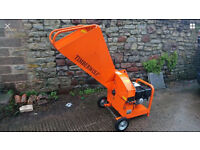 Timber wolf 13 hp Honda engine wood chipper shredder